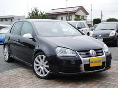 VW ゴルフ R32 禁煙 純OPバケットシート 社外HDDナビ 地デジ(フォルクスワーゲン)
