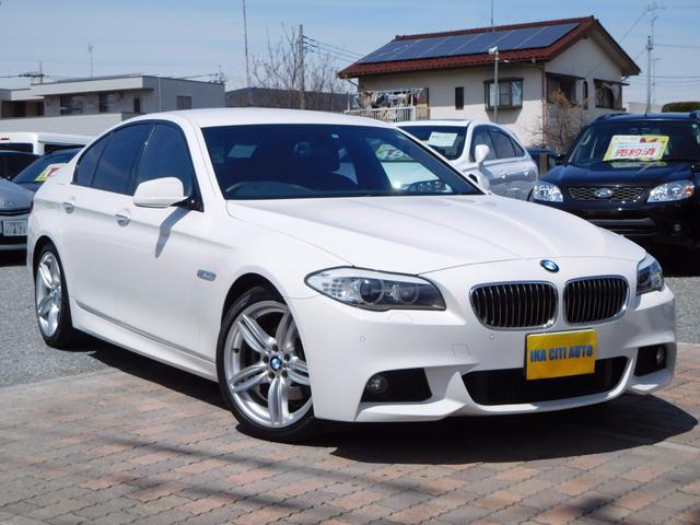 BMW 5シリーズ 523i Mスポーツ 禁煙 純ナビ 地D Bカ...