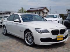 BMW740iMスポーツPK SR 禁煙 ナビ地D Bカメ 黒革S