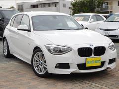 BMW116i Mスポーツ Iストップ  純正ナビ ワンオーナ−