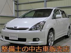 ウィッシュZ ナビ バックカメラ TV DVD再生 ETC 検査満タン