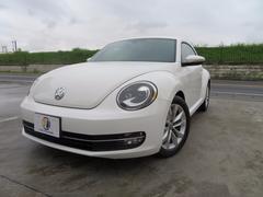 VW ザ・ビートルデザインレザーパッケージ車検整備付社外ナビテレビバックカメラ