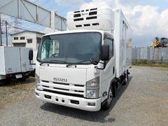 エルフトラックワイドロング中温冷凍車−5℃2t 2室式2エバ仕様 加温機付