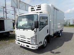 エルフトラック標準ロング低温冷凍車−30℃2t スタンバイ装置 2室可動式