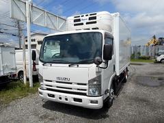 エルフトラックワイドロング中温冷凍車−5℃2.95t 冷蔵冷凍車