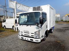 エルフトラック低温冷凍車−30℃2t10尺 スタンバイ 両側サイドドア付