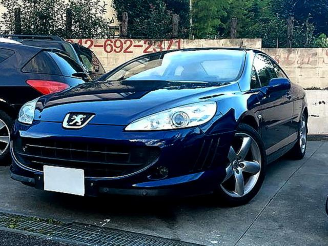 peugeot 407 coupe 407 2007 blue 107 934 km details japanese used cars goo net exchange. Black Bedroom Furniture Sets. Home Design Ideas