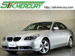 BMW525iハイラインパッケージ 法人1オナ 禁煙 黒革 HID