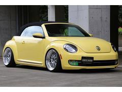 VW ザ・ビートル・カブリオレリアレス製作車 車高調 エアロ WORK19インチAW