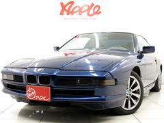 BMW850i グレー革 17インチアルミ キーレス ETC