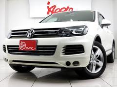 VW トゥアレグハイブリッド レーダークルーズ 360度カメラ スマートキー