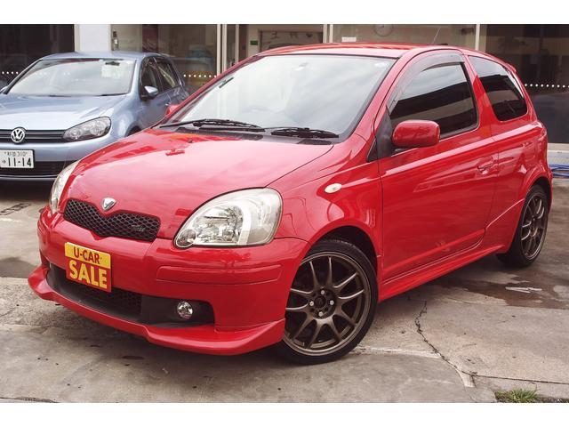 TOYOTA VITZ RS | 2004 | RED | 25,894 km | details - Japanese