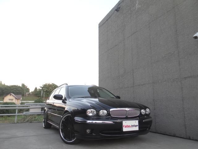 ジャガー 2.0 V6エステート  レオンハルト19AW ローダウン