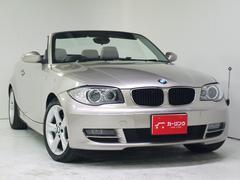 BMW120i カブリオレ 社外HDDナビ HID 屋根付き保管