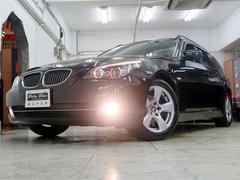 BMW525iツーリングハイラインP後期型 革 ナビ SR 下取車