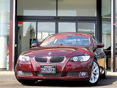 BMW335iクーペ純正18AW アイボリー革 HDDナビ PDC