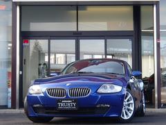 BMW Z4クーペ3.0si白革 社外HDDナビ DVD パドルシフト