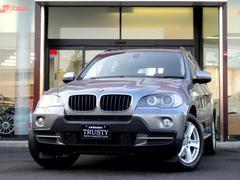 BMW X53.0si 純正18AW 黒本革 下取車 HDDナビ PDC