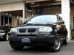 BMW X32.5i 社外17AW 社外HDDナビ Bカメラ 下取車