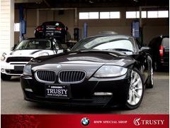 BMW Z4ロードスター2.5i 後期型 赤本革 社外HDDナビ