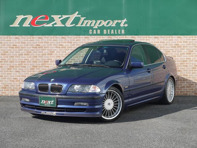 BMWアルピナ 3.3 6MT SR 左H 純正18AW ウッドパネル