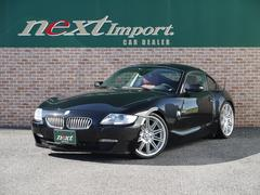 BMW Z4クーペ3.0si赤革シート シートヒーター19インチAW