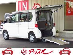 タント福祉車 スロープタイプ 車いす固定装置 純正ナビ