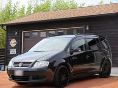 VW ゴルフトゥーランE 20インチAW ストラーダHDD ETC 記録簿