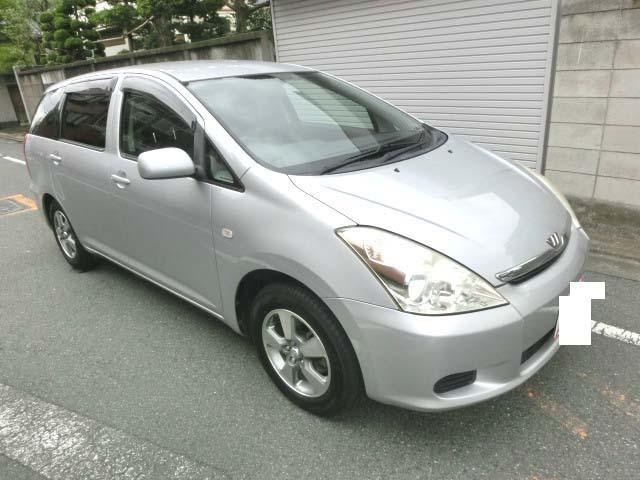 トヨタ ウィッシュ X ナビETC CD AW (車検整備付)