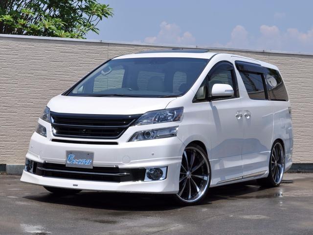 トヨタ 3.5V プレミアムシートエディション モデリスタエアロ
