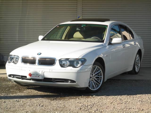 BMW 745i 左ハンドル 革シート サンルーフ 18インチアルミ