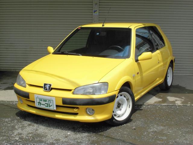 peugeot 106 s16 2002 yellow 0 km details japanese used cars goo net exchange. Black Bedroom Furniture Sets. Home Design Ideas