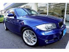 BMW130iMスポーツ サンルーフ 黒本革シート 1オーナー禁煙