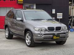 BMW X53.0iパノラマサンルーフ黒本革シート
