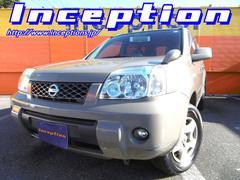 エクストレイルS 4WD レザーシート MT5速 社外オーディオ
