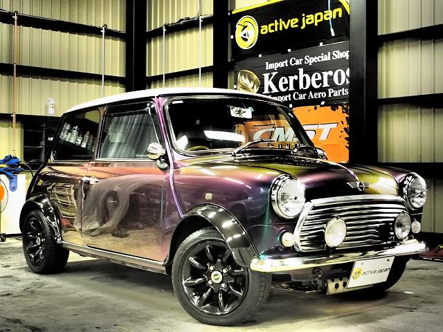 Rover Mini 13 1995 Special Color 0 Km Details Japanese