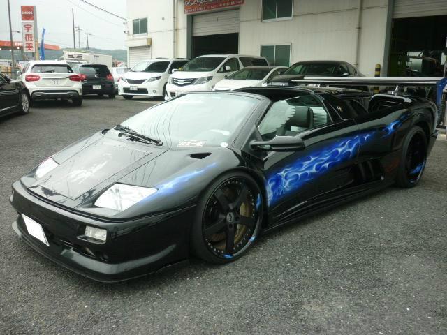 Lamborghini Diablo 1997 Special Color 17 000 Km Details