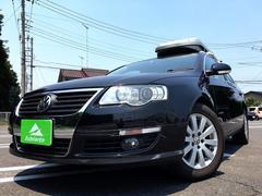 VW パサートヴァリアントナビ・ETC・キーレス・純正AW・キセノン・キャリア付き