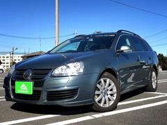 VW ゴルフヴァリアントTSI コンフォートライン HDDナビ・キーレス・ETC