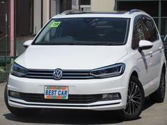 VW ゴルフトゥーランTSI ハイラインDCCパッケージ 純正ナビTV サンルーフ