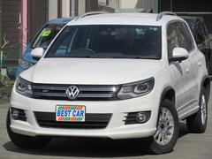 VW ティグアン2.0TSI Rライン4モーション 4WD ナビTV ETC