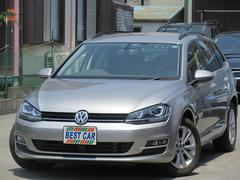 VW ゴルフヴァリアントTSIコンフォートラインBMT ディスカバープロナビTV