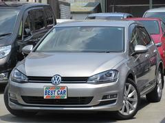 VW ゴルフTSIハイラインBMT レザーパック ナビTV 本革シート