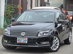 VW パサートTSIハイラインBMT 本革シート フルセグナビTV Bモニ