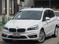 BMW218dグランツアラーラグジュアリー  本革 純正HDDナビ