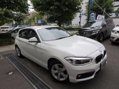 BMW118d スポーツ ディーラー入庫車 新車保証継承 禁煙車