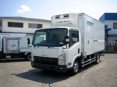 エルフトラック冷蔵冷凍車 低温冷凍車 ワイドロング冷凍車