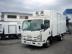 エルフトラック冷蔵冷凍車 3tワイドロング低温冷凍車 スタンバイ付冷凍車