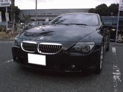 BMW630i スーパースプリントマフラー サンルーフ 黒革シート