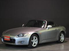 S2000ベースグレード フジツボマフラー 革シート 新品幌・Rガラス